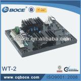 Regulador de voltaje automático sin cepillo del generador AVR de la CA de la potencia Wt-2