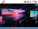 Visualización de LED al aire libre que hace publicidad con de calidad superior