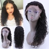 Kinky Curly Cheveux humains Full Lace Wig/Lace Front Wig