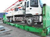 37m vrachtwagen ISUZU zette concrete pomp, concrete pompvrachtwagen op