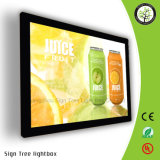 LED Light Slim Light Box pour affichage