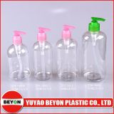 500ml Boston Plastic Bottle for Shampoo and Shower Packaging (ZY01-B098)