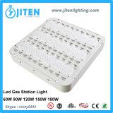 Lumière extérieure de la lumière IP66 de station-service de support de surface des dispositifs 60-180W d'éclairage LED d'écran