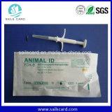 ISO11784/11785 étiquette animale de puce de l'IDENTIFICATION RF 134.2kHz