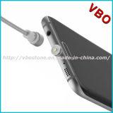 De flexibele metaal-Hoofd type-C van de Micro- Van de Kabel Kabel van de Magneet USB Kabel van usb- Gegevens