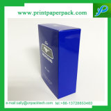 Rectángulo de regalo de empaquetado del perfume lujoso de papel