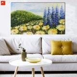 De Chrysant van het impressionisme bloeit Kunst Pianting met Frame
