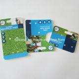 Zoll gedruckte Plastikkarte