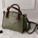 Sacchetto di spalla di vendita superiore del Tote del cuoio genuino di marca di disegno di grande capienza del sacchetto popolare delle donne per le signore Emg5139