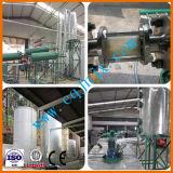 Полностью автоматическая Пластиковые пиролизного масла Преобразование в дизельный завод