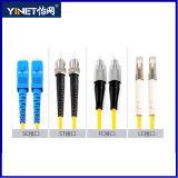 LC modo 9/125 /Simplex duplex del cavo di zona della fibra di LC al singolo disponibile