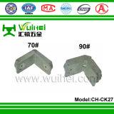 Angolo di fusione sotto pressione in lega di zinco per la finestra e portello con ISO9001 (CH-CK27)