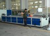 Wir geben Profil-Strangpresßling-Maschine des heißen Verkaufs-Plastik-UPVC an