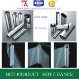 SUS304, tubo della scanalatura dell'acciaio inossidabile 316 per il corrimano di vetro