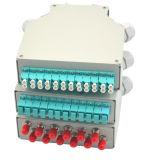 Sp-DIN05-12UN CARRIL DIN Caja de terminales de fibra óptica