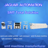 Hohe Genauigkeit Voll-Selbst-LED Maschine herstellend, Geräten-Drucken-Maschinen des Drucken-SMT zu rastern