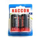 R20 batterie R20 de Vprimary de la taille 1.5 de la batterie D