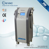 Máquina da beleza VAC do equipamento e do oxigênio do tratamento para o cuidado de pele (OxyVAC)