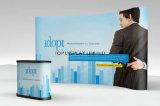 Tension d'affichage Pop up Pop up Stand pliable bannière tissu Mur d'affichage réglable
