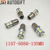 Indicatori luminosi d'inversione dell'automobile 13SMD delle lampadine Ba15s Bay15D P21/5W 5050 dell'automobile