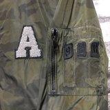 Camuflagem Moda casaco casual para homens