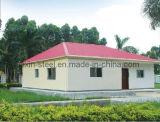 Edificio prefabricado fuerte del chalet de la estructura de acero del tiempo de la larga vida