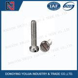 Edelstahl gekerbte Kopf-Schraube der Wannen-ISO1580