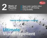 rivestimento di ceramica Nano di durezza 9h con la cosa repellente di acqua eccellente