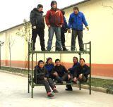 Het Dubbele Stapelbed van het Staal van de Schoolbehoeften van China Anshun