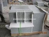 G603 Pedreira mosaico de pedra de granito cinza/laje