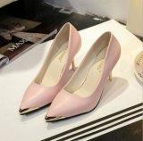 De in het groot Schoenen van de Dames van het Bureau van de Teen van de Hielen van de Schoenen van Vrouwen Elegante Cusp