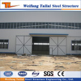 Fábrica do frame da construção de aço da luz do baixo custo de vertente pré-fabricada
