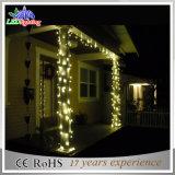 Vacaciones al aire libre el cable de PVC Cortina LED luces decoración Hada