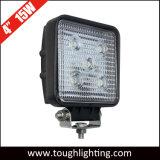 트럭 차량을%s 자동차 4 인치 15W 반점 플러드 사각 LED 일 빛