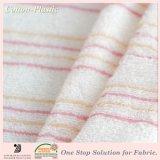 Stripe sottile Long Loop Terry Towel Cloth Fabric per Baby