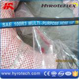 Fr854 renforcé de fibre standard flexible haute pression (flexible hydraulique SAE100R3/SAE100R6)