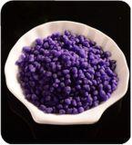 Mistura granulada orgânica do fertilizante