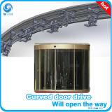 Porte coulissante hermétique en aluminium à la mode de qualité de prix usine