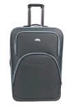 2つの車輪のトロリー箱は荷物旅行袋をチェックインする