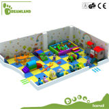 Тема джунглей парка атракционов игрушек детей ягнится крытая спортивная площадка для сбывания