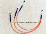 Cuerdas de corrección de fibra óptica del cable SMA