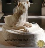 Animale di marmo, scultura di pietra animale di pietra