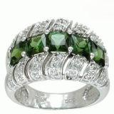 녹색 전기석 반지 (R3168)