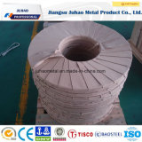 2b bobina de aço laminada de superfície principal do tratamento 201stainless dos vagabundos 8k