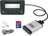 Changeur de CD numérique(aux) de l'adaptateur SD USB pour la musique en voiture