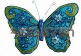 Пуховые бабочка