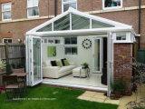 Esterno del cortile portelli Bifold di alluminio del patio esterno ripiegato di larghezza di 3.6 m.