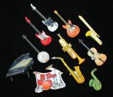 Geleide Kentekens in het Verschillende Ontwerp van de Muziek