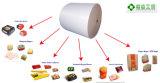 40+15GSM Papel recubierto de PE de Burger la envoltura, Pepita sándwich o papel de embalaje