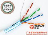 Cavo-Simpact di lan del ftp certificato UL/CE/RoHS/ISO Cat5e
